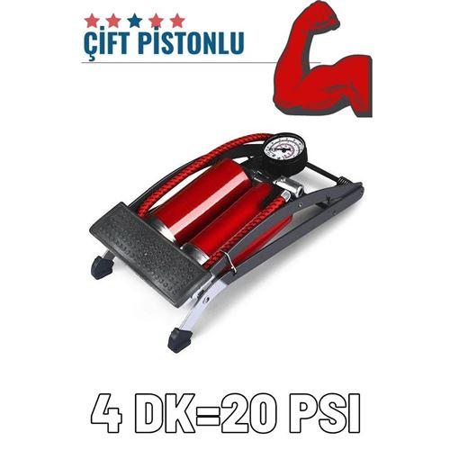 ModaCar Ayaktan Çift Pistonlu Lastik Şişirme Pompası 425582